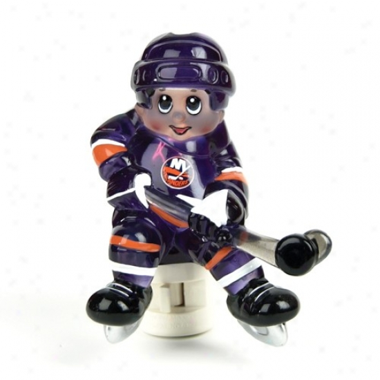 New York Islancers Nhl Night Light