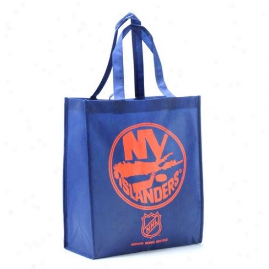New York Islanders Royall Blue Reusable Carry Bag