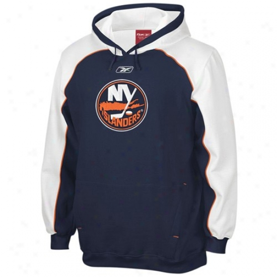 New York Islanders Sweat Shirt : Reebok New York Islanders Navy Blue Francnise Sweat Shirt