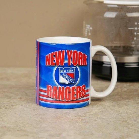 New York Rangers 11oz. Slapshot Coffee Mug