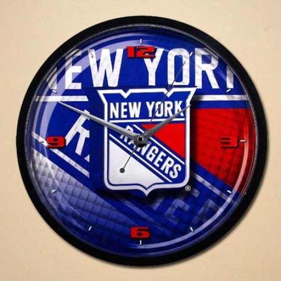 New York Rangers 12'' Wall Clock