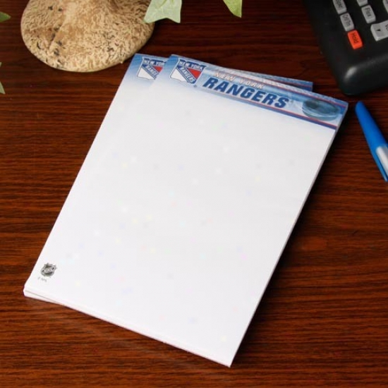 New Yirk Rangers 2-pack 5'' X 8'' Notepads