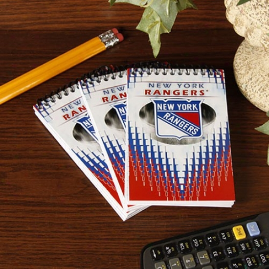 New York Rangers 3-pack Team Memo Pads
