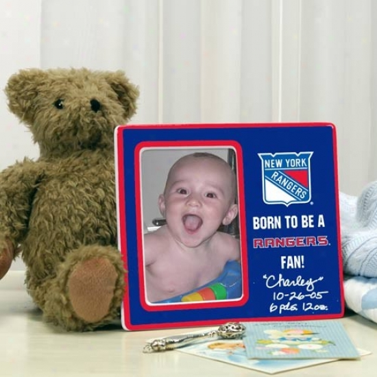 New York Rangers Born To Be Picture Frame