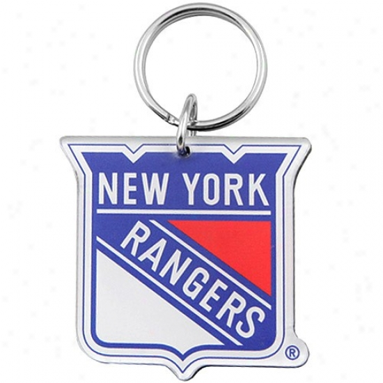 New YorkR angers High Definition Keychain