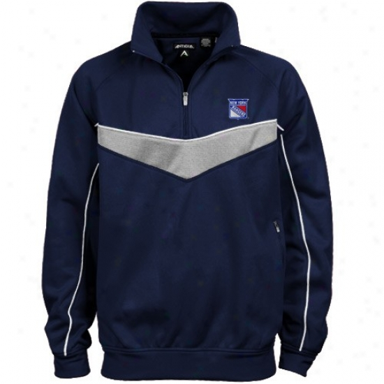 New York Rangers Jacket : AntiguaN ew York Rangers Navy Blue Equinox Jacket