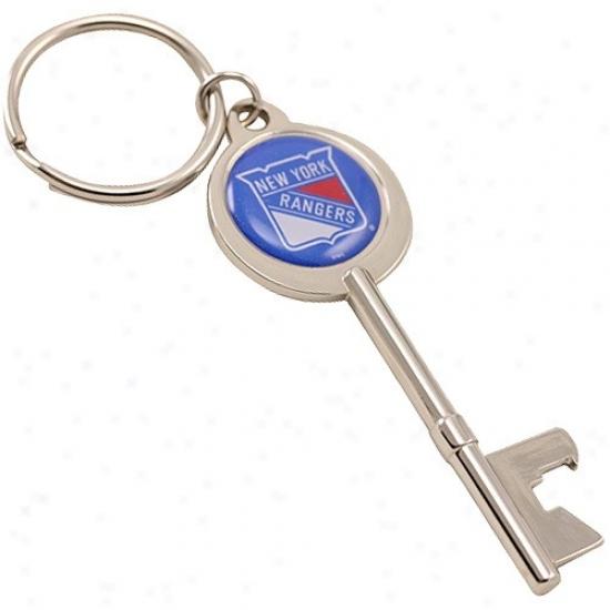 eNw York Rangers Key Bottle Opener Keychain