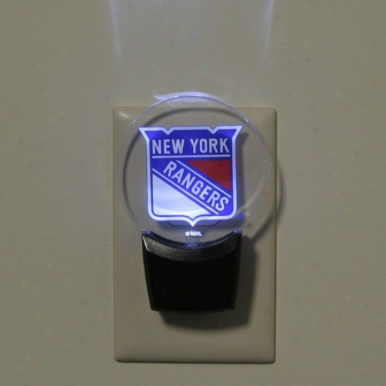 New York Ranggers Led Night Light