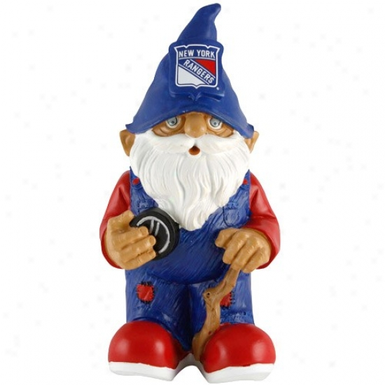New York Rangers Mini Hockey Gnome Figurine