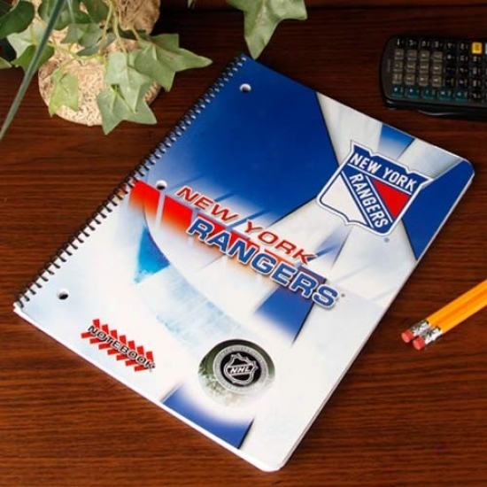 New York Rangers Notebook
