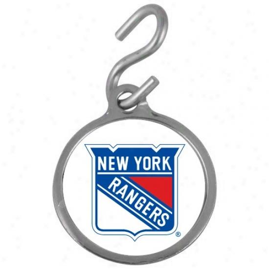 New York Rangers Pet Id Tag