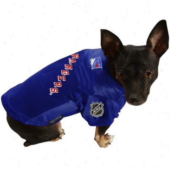 New York Rangers Royal Blue Pet Jersey