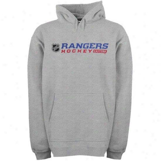New York Rangers Sweat Shirts : Reebok New York Rangers Asy Right Wing Sweat Shirts