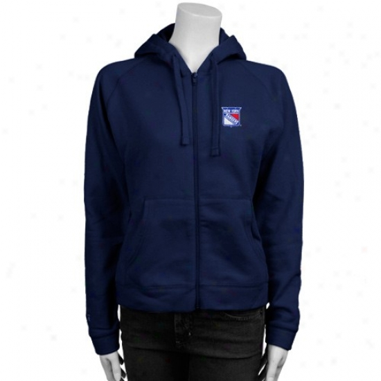 Just discovered York Rangers Sweatshirt : Antigua New York Rangers Ladies Navy Melancholy Full Zip Sweatshirt