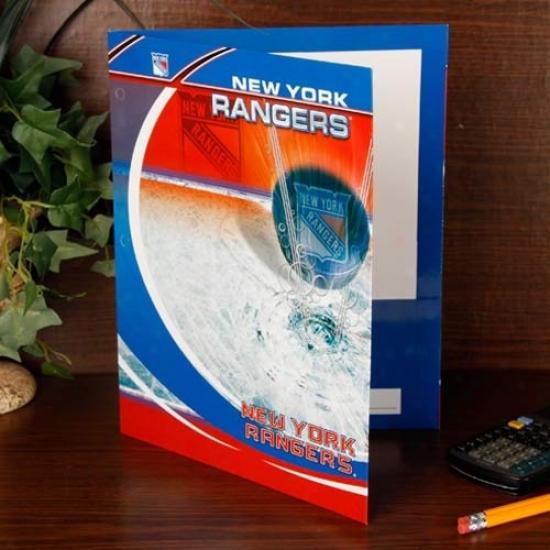 New York Rangers Team Folder