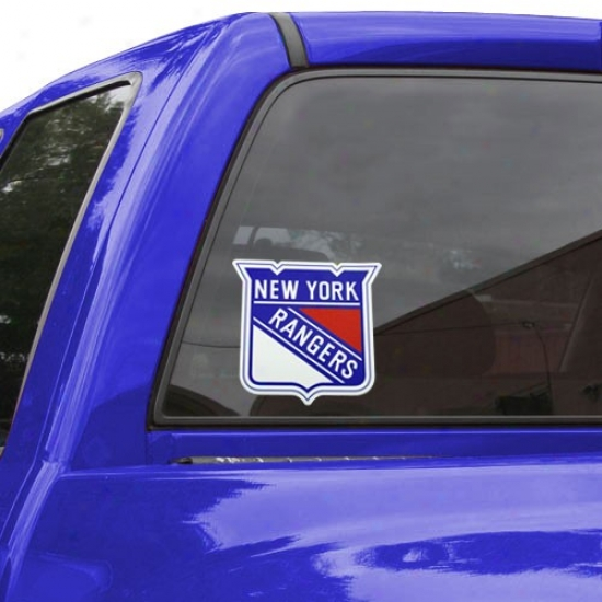 New York Rangers Team Logo Color Decal