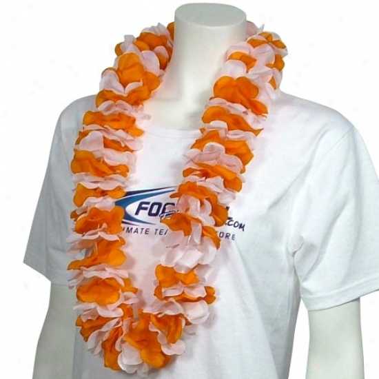 Orange & Pale Lei