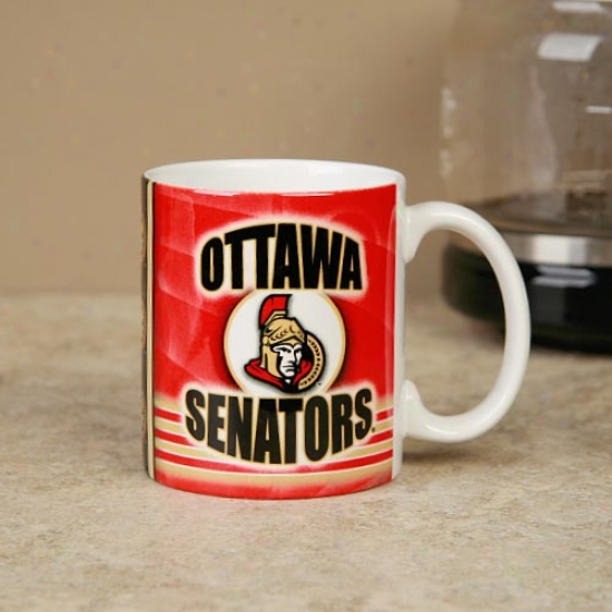 Ottawa Senators 11oz. Slapshot Coffee Mug