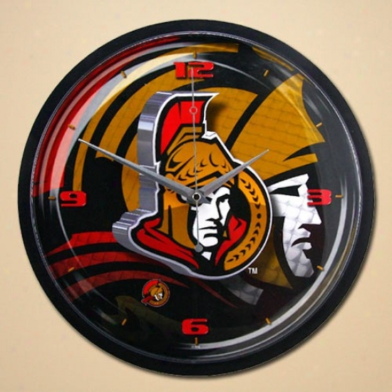 Ottawa Senators 12'' Wall Clock