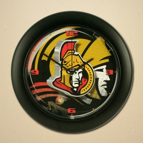 Ottawa Senators High Definition Wall Clock