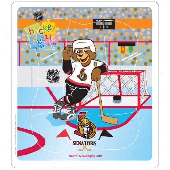 Ottawa Senators Hockey Puzzle