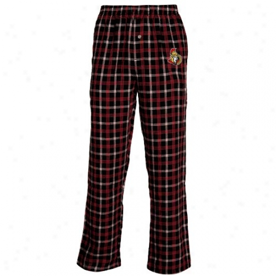 Ottawa Senators Navy Blue Tailgate Pajama Pants