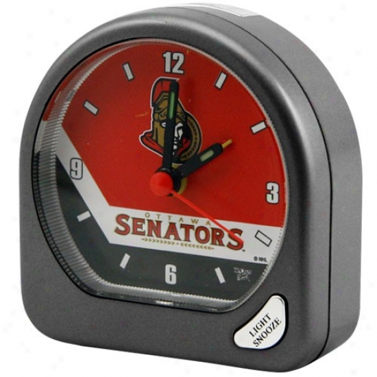 Ottawa Senators Plastic Alarm Clock