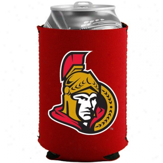 Ottawa Senators Red Collapsible Can Coolie