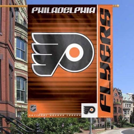 Philadelphia Flyer Banners : Philadelphia Flyer Black 27'' X 37'' Vertical Banners Banners