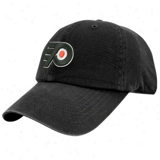 Philadelphia Flyer Caps : Twins Enterprlses Philadelphia Flyed Black Hockey Franchise Fitted Caps