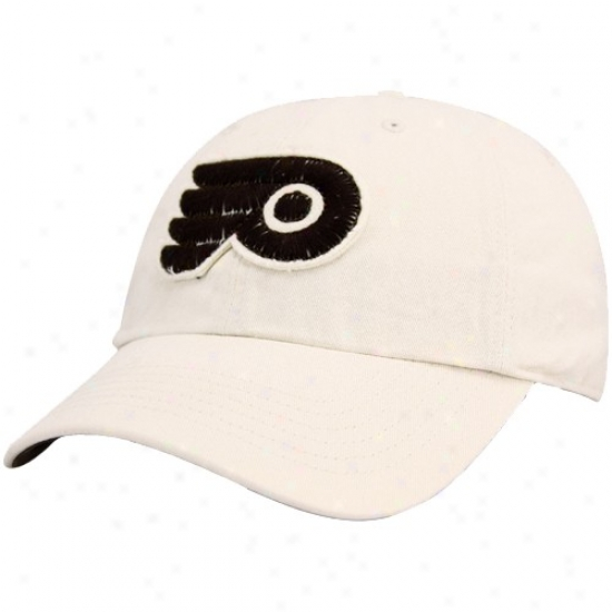 Philadelphia Flyer Gear: Twins '47 Philadelphia Flyer Laadies Natural Clean Up Adjustable Hat