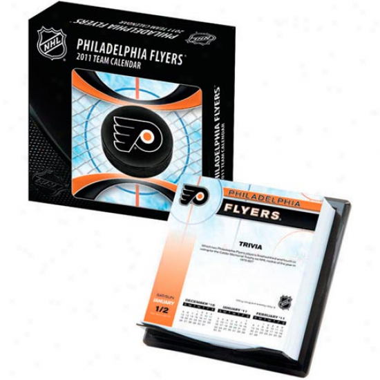 Philadelphia Flyers 2011 Boxed Team Calendar