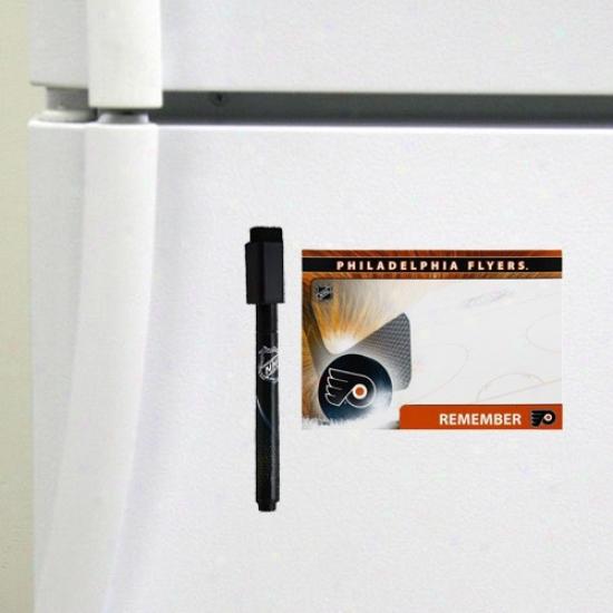 Philadelphia Flyers 4-pack Magnettic Dry-erase Boards