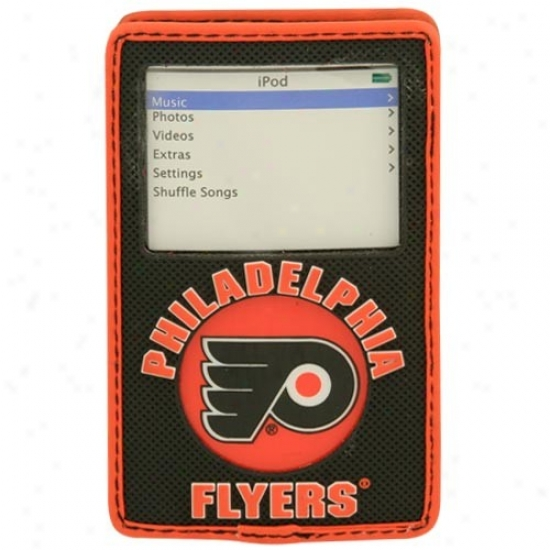 Philadelphia Flyers Black Game Wear Hockey Puck Ipod Case