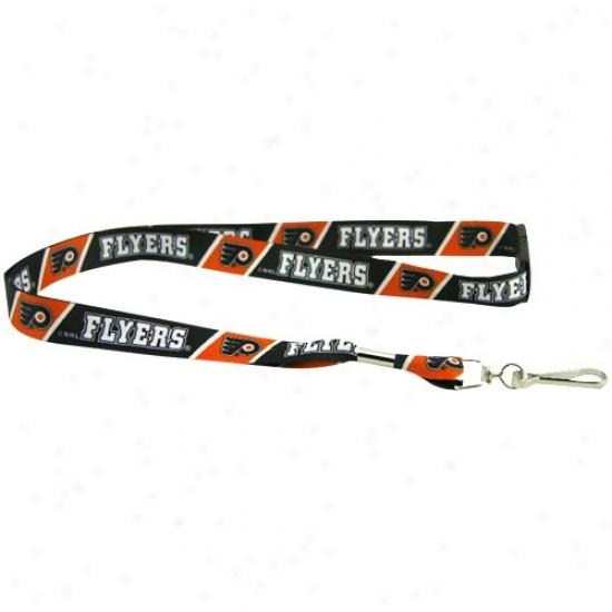 Philadelphia Flyers Black-orange Event Lanyard