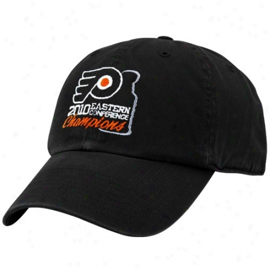 Philadelphia Flyers Cap : Twins '47 Philadelphia Flyers Bcak 2010 Nhl Eastern Conference Champions Adjustable Slouch Cap