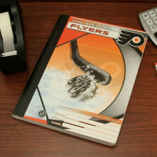 Philadelphia Flyers Compositjon Book
