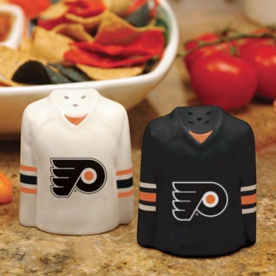 Philadelphia Flyers Gameday Ceramic Salt & Pepper Shakers