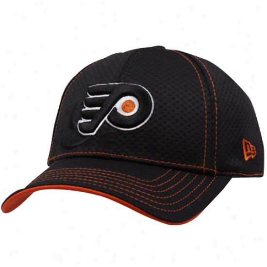 Philadelphia FlyersM erchandise: New Era Philadelphia Flyers Dismal 39thirty Stretch Fit Hat