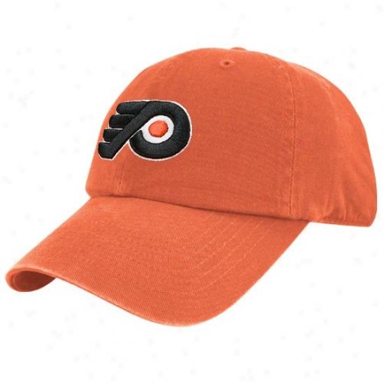 Philadelphia Flyers Merchandise: Twins '47 Philadelphia Flyers Orange Franchise Fitted Hat