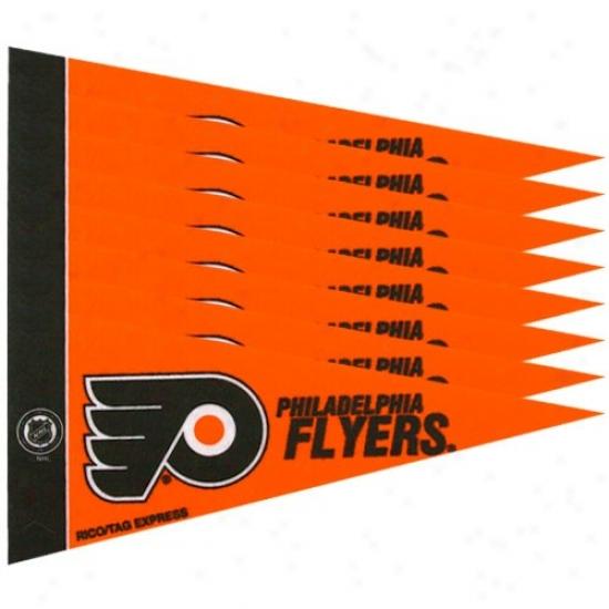 Philadelphia Flyers Orange 8-pack Mini Pennant Set