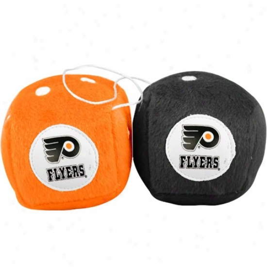 Philadelphia Flyers Plush Team Fuzzy Dice