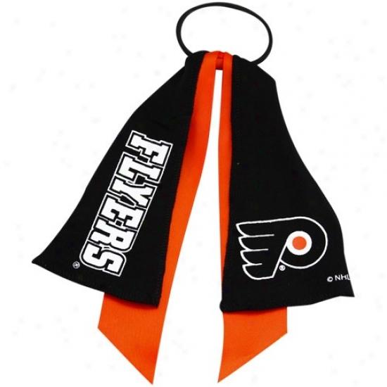 Philadelphia Flyers Ponytail Holdsr