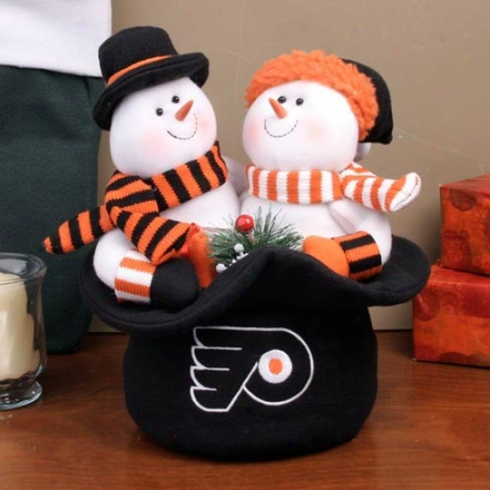 Philadelphia Flyers Snowmen Top Hat