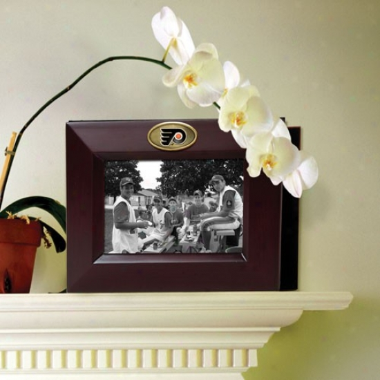 Philadelphia Flyers Wooden Picture Frame & Photo Album
