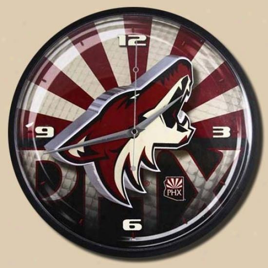 Phoenix Cpyotes 12'' Wall Clock