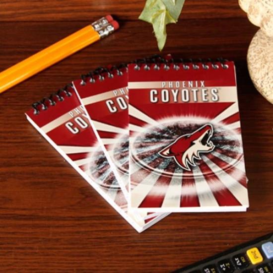 Phoenix Coyotes 3-pack Team Memo Pads