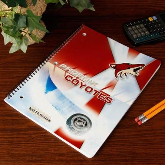 Phoenix Coyotes Notebook