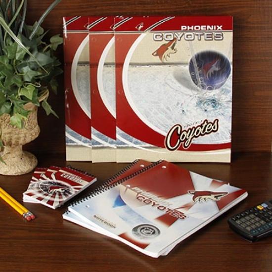 Phoenix Coyotes School Combo Pack