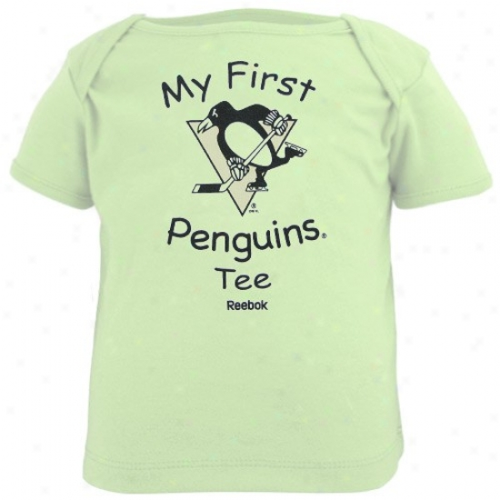 Pittsburgh Penguin Tshirts : Reebok Pittsburgh Pentuin Newborn Mint New My First Penguins Tshirts Tshirts